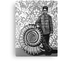 Ammonite Canvas Print