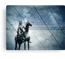 night rider Canvas Print