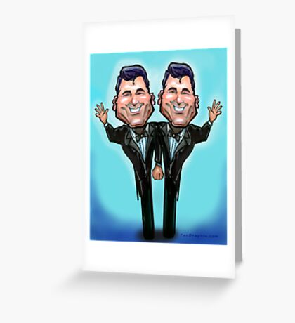 Gay Wedding Cake Topper Greeting Card