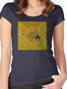 A WORLD IN YELLOW Women's Fitted Scoop T-Shirt