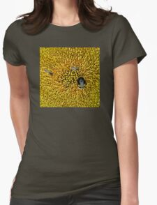 A WORLD IN YELLOW Womens Fitted T-Shirt