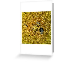A WORLD IN YELLOW Greeting Card