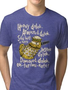 SPECIAL WEAPONS, SOLID SHELL OF HATE Tri-blend T-Shirt