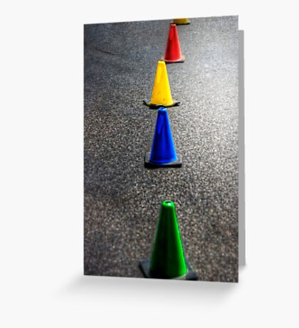 Primary Pylons Greeting Card