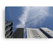 Melbourne Skyline - 4 Towers Canvas Print