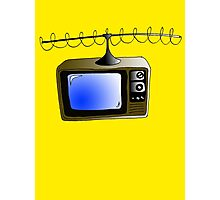 Fan of TV - Retro TV - Television - Some of you may not have seen one of these!! Photographic Print