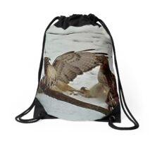 Hawk Fight 3 Drawstring Bag