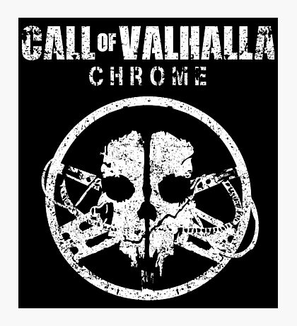 Call of Valhalla: Chrome Photographic Print