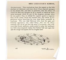 Mrs Leicester's School Charles & Mary Lamb with Minifred Green 18xx 0180 Tailpiece to The Sea Voyage Poster