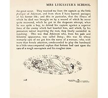 Mrs Leicester's School Charles & Mary Lamb with Minifred Green 18xx 0180 Tailpiece to The Sea Voyage Photographic Print