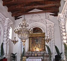 Seventh Century Church in Taormina, Sicily by jules572