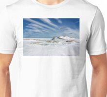 Snow Covered Lava Rift Unisex T-Shirt