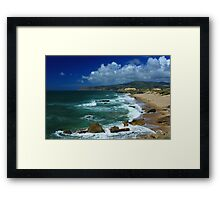 Guincho beach Framed Print