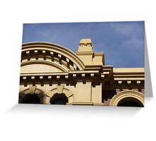 Facade at Flinders Street Station Greeting Card