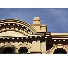 Facade at Flinders Street Station Photographic Print