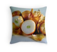 Onions Have Layers Throw Pillow