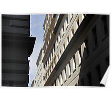 Laneway Facade - Melbourne Poster