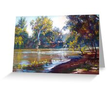 Fast Flowing Goulburn Greeting Card