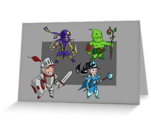 Magic vs. Zombies: The Heroes Greeting Card