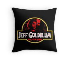 JURASSIC GOLDBLUM Throw Pillow
