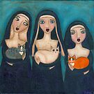 Nuns and Cats by Ryan Conners