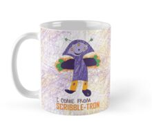 I Come From Scribble-Tron Mug