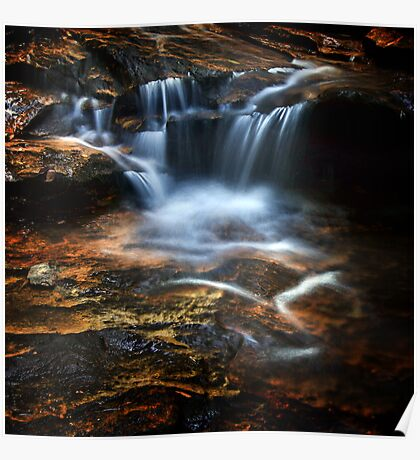 Terrace Falls, Blue Mountains  Poster