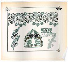 Maurice Verneuil Georges Auriol Alphonse Mucha Art Deco Nouveau Patterns Combinaisons Ornementalis 0043 Poster