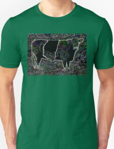 BANDED GALLOWAY COW DESIGN Unisex T-Shirt