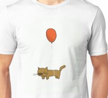Floating Kitten Unisex T-Shirt