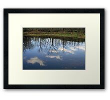 Reflections Of The Day Framed Print
