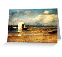 Pumphouse By The Sea Greeting Card