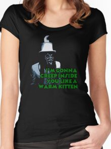 The Spirit of Jazz warns...Mighty Boosh Women's Fitted Scoop T-Shirt