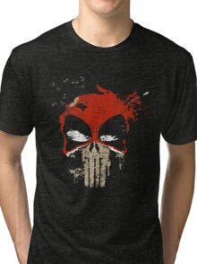 PUNISHMENT BY CHIMICHANGA Tri-blend T-Shirt