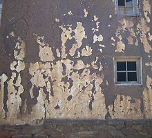 Pichilemu wall by Jen Beverly