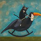 Cat on a Rocking Toucan by Ryan Conners