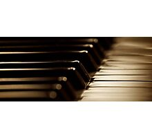 The Piano Photographic Print