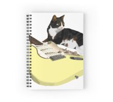 Strat Cat Spiral Notebook