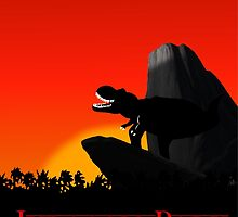 Jurassic King by TGRShirts