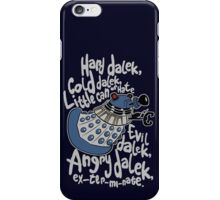 Little Can of Hate (Movie Dalek) iPhone Case/Skin