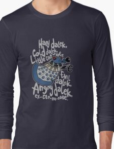 Little Can of Hate (Movie Dalek) Long Sleeve T-Shirt