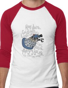 Little Can of Hate (Movie Dalek) Men's Baseball ¾ T-Shirt