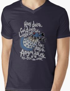 Little Can of Hate (Movie Dalek) Mens V-Neck T-Shirt