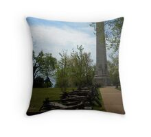 Jamestown 300th Annaversary Monument Throw Pillow