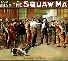 Squaw Man  by lawrencebaird