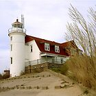 Point Betsie Lighthouse by Stephen D. Miller