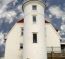 Point Betsie Lighthouse  by Stephen D. Miller