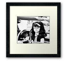 Miss Priscilla Framed Print