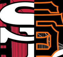 San Francisco City of Champions Sticker