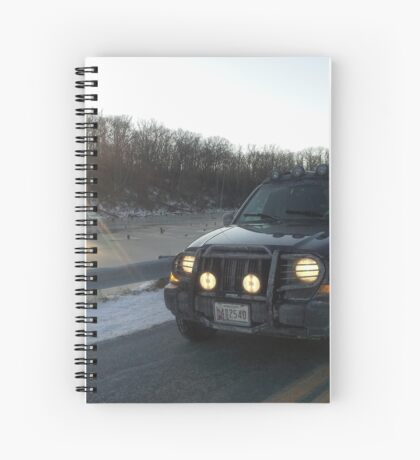 Jeep Spiral Notebook